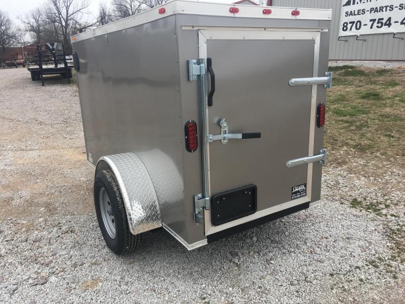 2020 Eagle Cargo 4x6 Barn Door Cargo Trailer Enclosed Cargo Trailer