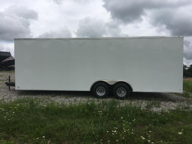 Ozark 8.5 X 24 Enclosed Car Hauler 10K