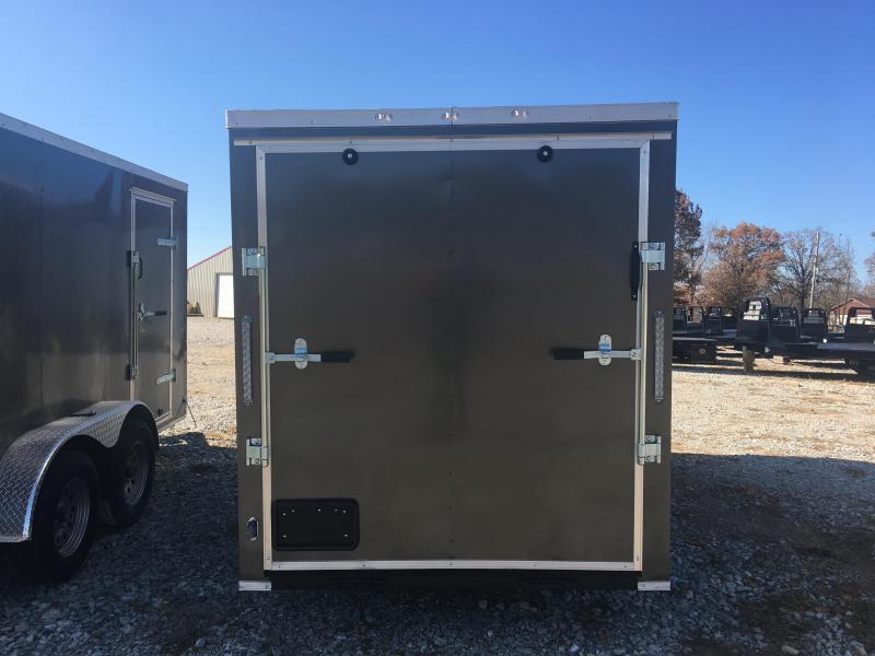 Ozark 6 X 12 Enclosed Cargo Trailer 3K