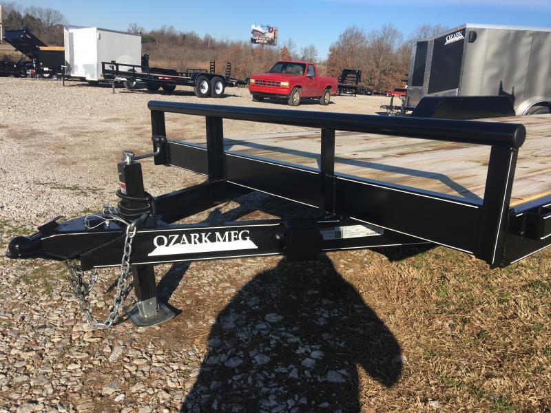 2020 Ozark 82x20 14k Equipment Trailer w/ 5' HD Ramps Equipment Trailer