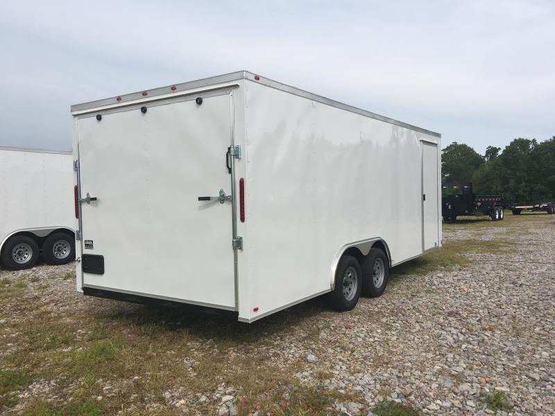 Ozark 7 X 24 Tandem Axle Enclosed Cargo Trailer 7K