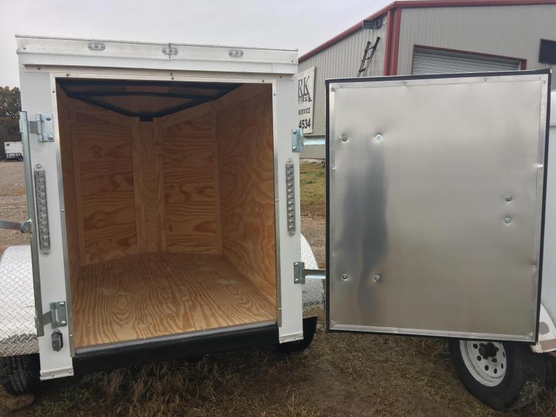 Ozark 4 X 6 Enclosed Cargo Trailer