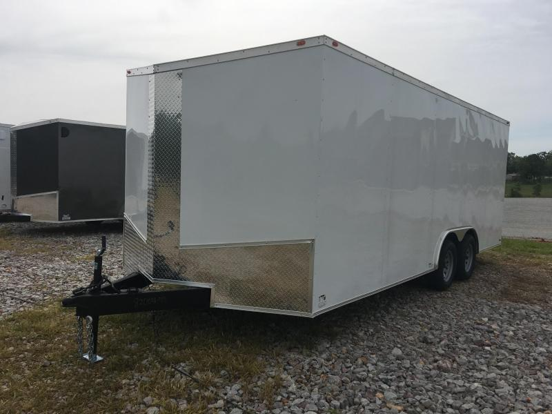 Ozark 8.5 X 20 Enclosed Car Hauler 10K
