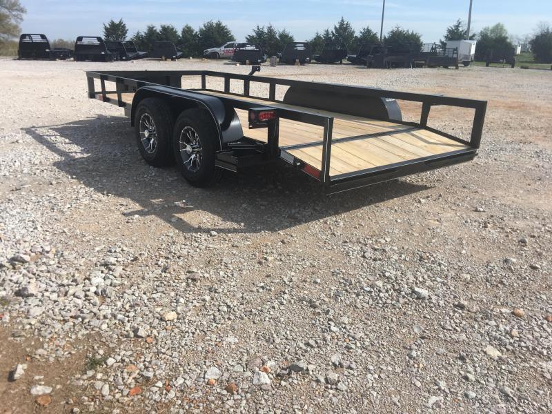 2020 Ozark 76x16 10k Utility Trailer