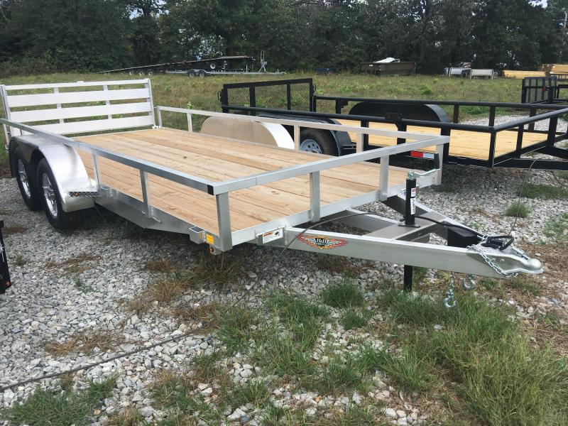 2020 H and H Trailer 82x16 Utility Trailer