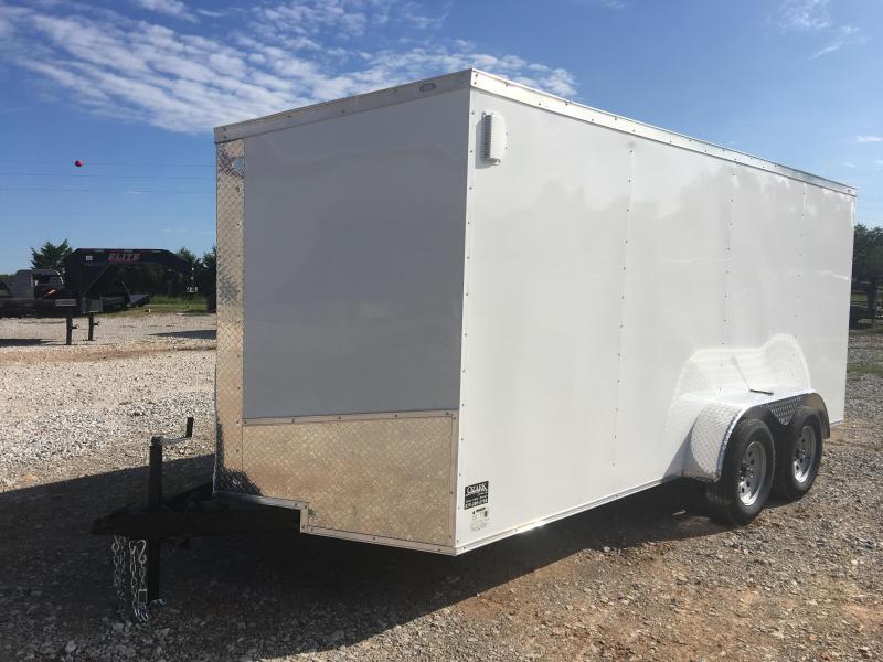 Eagle Trailer 7 X 16 Tandem Axle Enclosed Cargo Trailer 7K