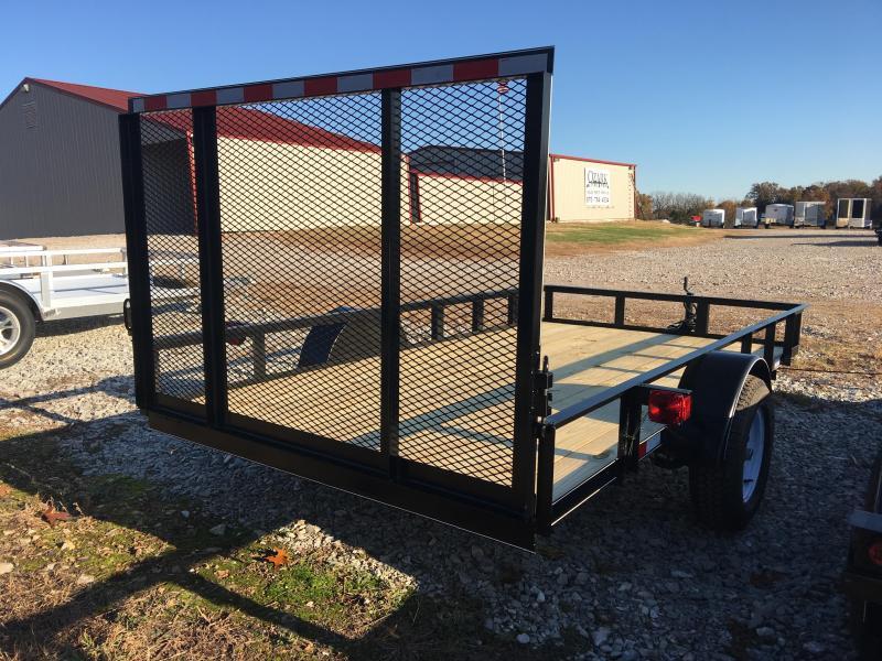 2020 Ozark 6x12 Economy Model Utility Trailer with 4' gate