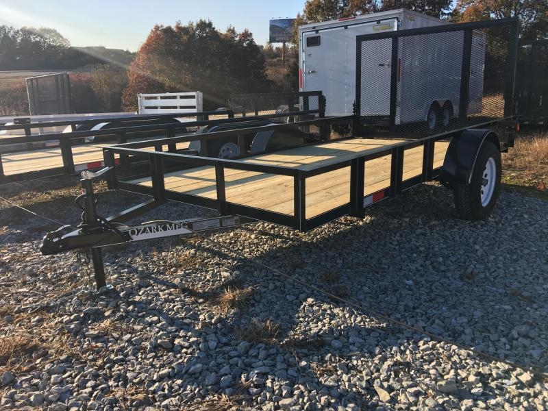 2020 Ozark 6x12 Economy Model Utility Trailer with 4' gate