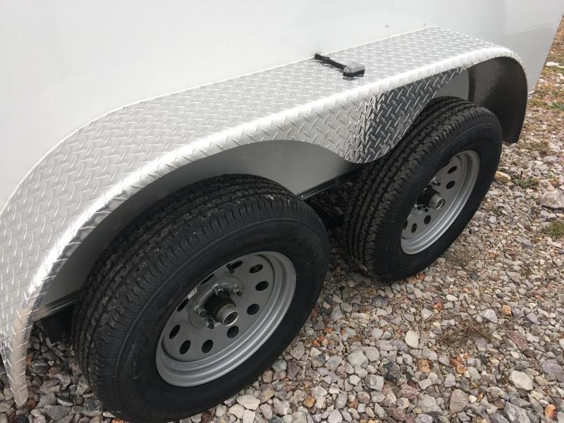 Ozark 6 X 10 Tandem Axle Enclosed Cargo Trailer 7K