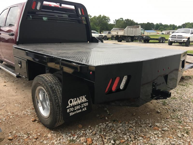 Crownline Work Bed Dual Rear Wheel
