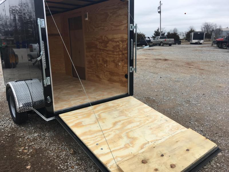 2020 Eagle Trailer 6x10 Cargo Trailer with Ramp Door Enclosed Cargo Trailer