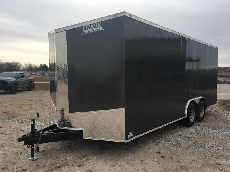 2020 Eagle Cargo 8.5x20 10k Enclosed Carhauler 7' Interior Height Enclosed Cargo Trailer
