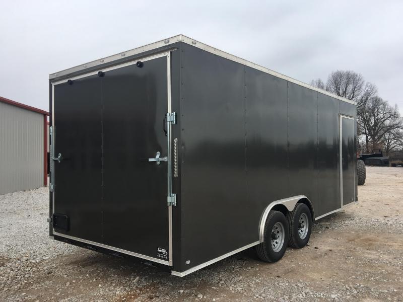 2020 Eagle Cargo 8.5x20 10k Enclosed Carhauler 7' Interior Height Enclosed Cargo Trailer