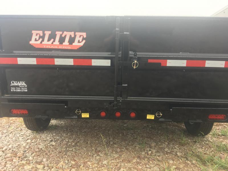 Elite 7 x 16 14K Dump Trailer