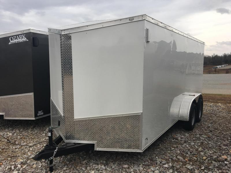 2020 Eagle Trailer 7x16 Tandem Axle Cargo Trailer Enclosed Cargo Trailer