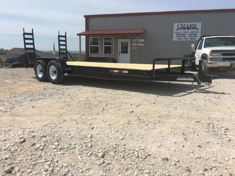 2020 Ozark 82x20 14K Equipment Trailer