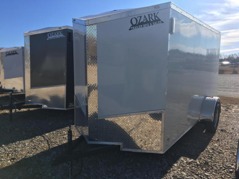 2020 Eagle Trailer 6x12 Cargo with Ramp Door Enclosed Cargo Trailer