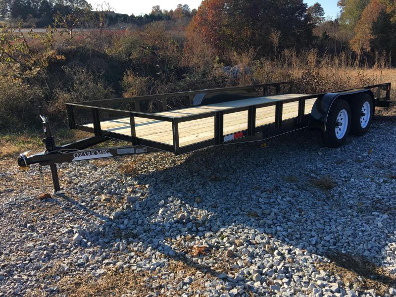2020 Ozark 82x18 Contractor Utility Trailer