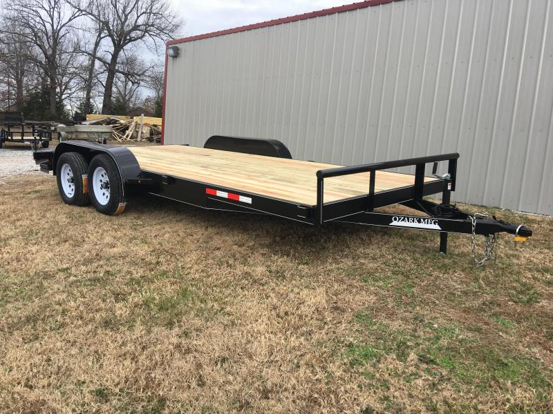 2020 Ozark 82x18 HD Car Hauler Equipment Trailer