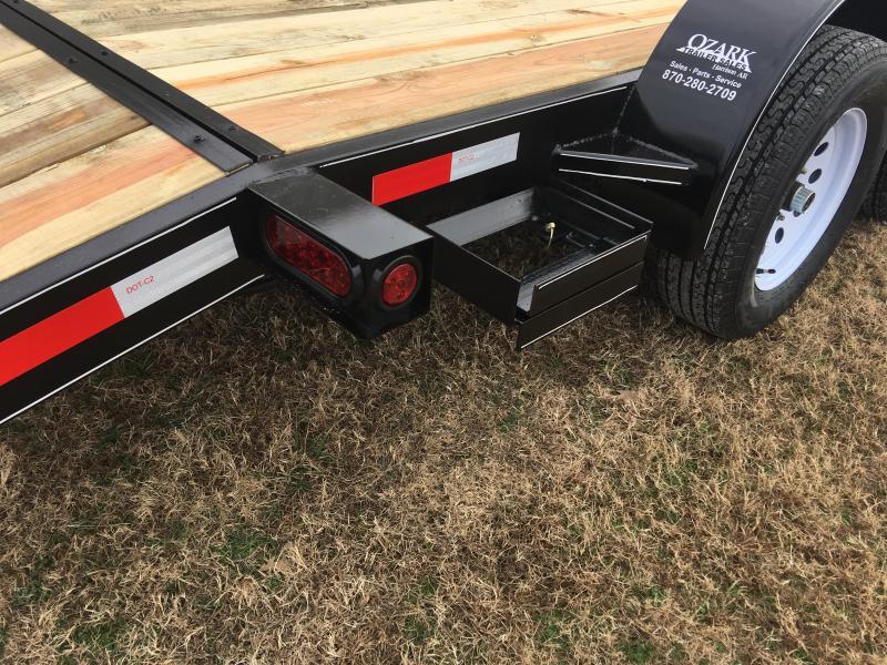 2020 Ozark 82x18 HD Car Hauler Equipment Trailer
