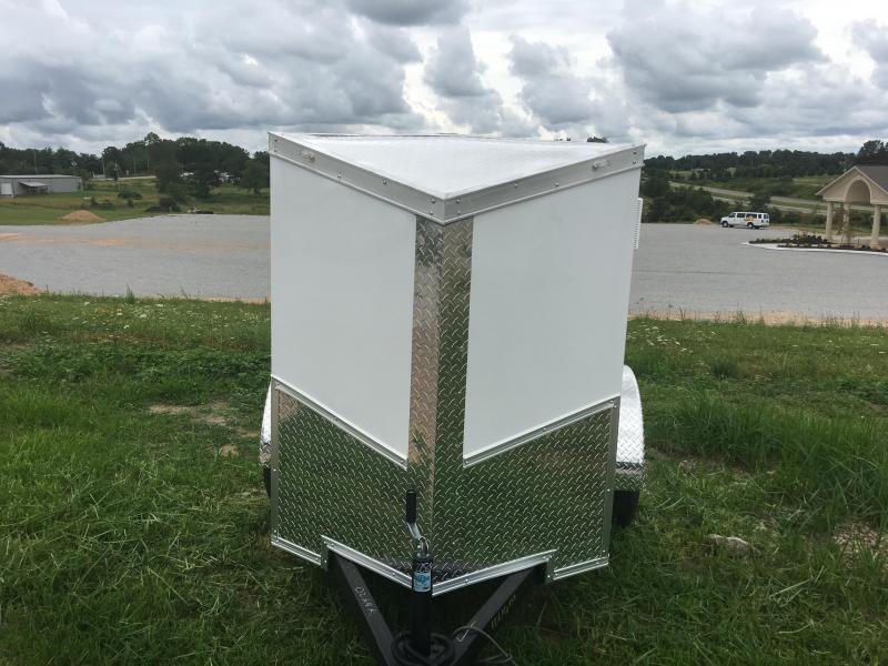 Ozark 4 X 8 Enclosed Cargo Trailer