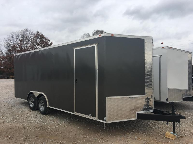 2020 Eagle Trailer 8.5x20 7K Enclosed Car Hauler