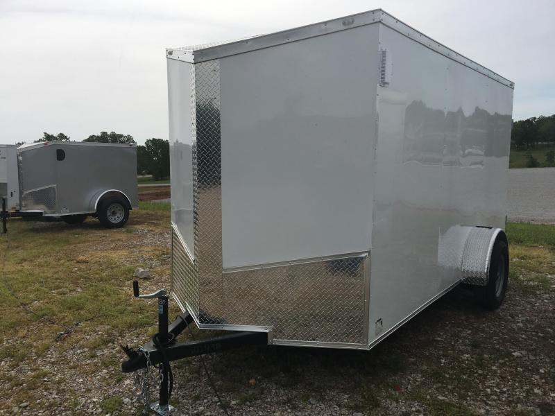 Ozark 7 X 14 Enclosed Cargo Trailer 3.5K