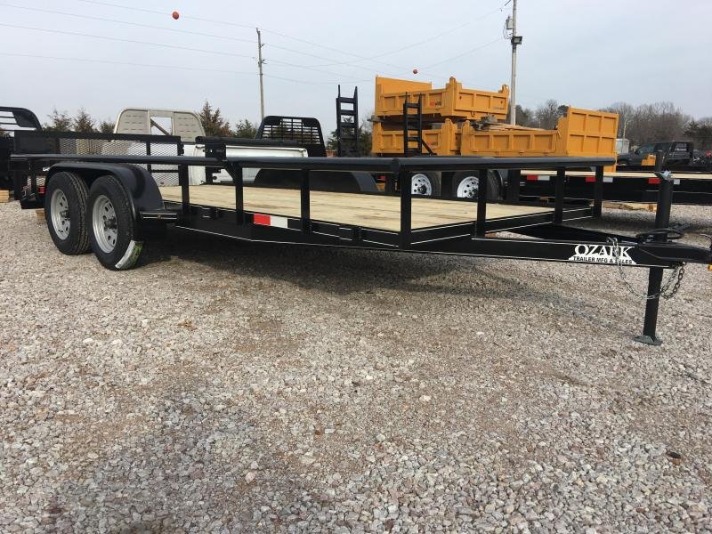 Ozark 76 x 20 14K Preferred Package Utility Trailer