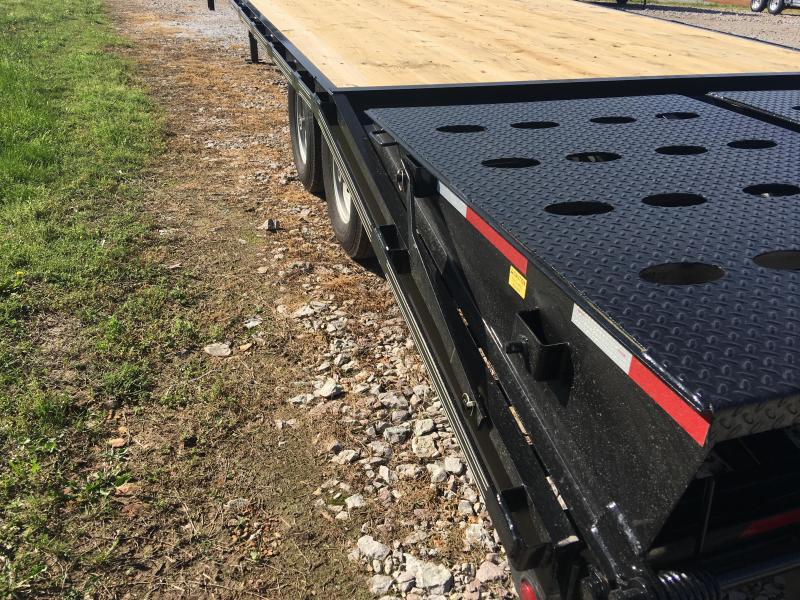 Elite 8.5 x 25 14K Deck Over Trailer w/ Mega Ramps