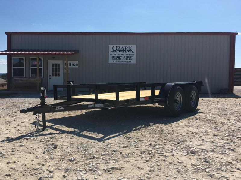 Ozark 76x12 7K Preferred Package Utility Trailer