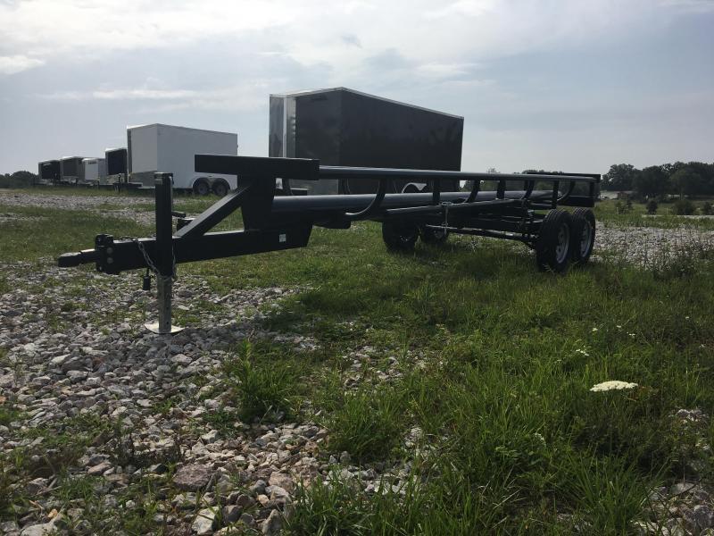 2020 Ozark 21' Bumper Pull Bale Ox Hay Hauler Other Trailer