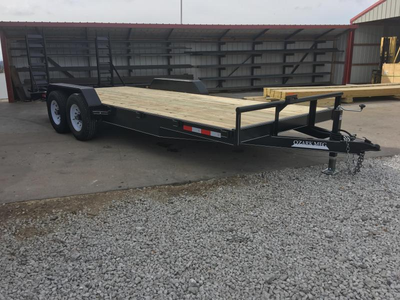 2020 Ozark 82x20 12K Equipment Trailer
