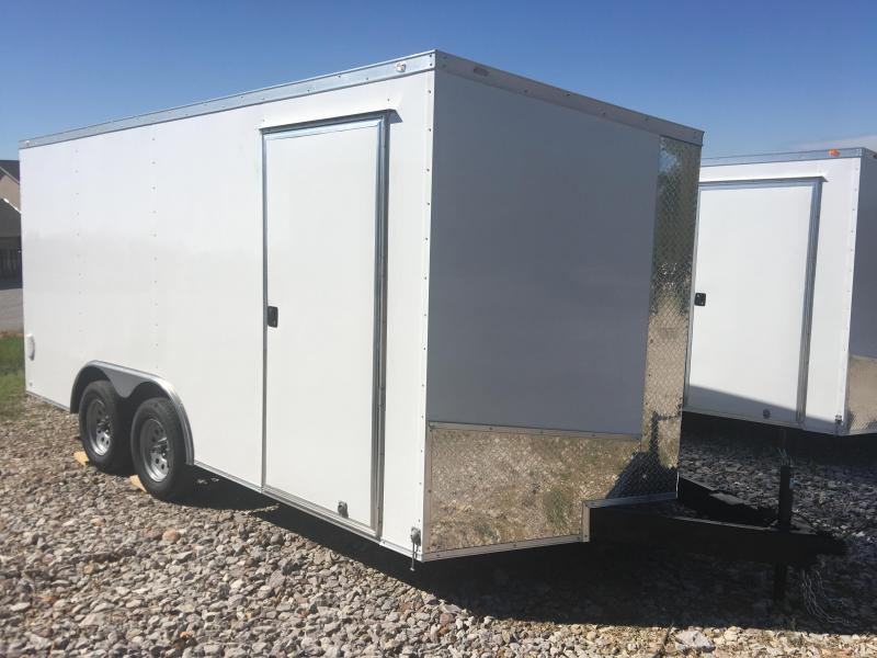 2020 Eagle Cargo 8.5x16 7k Cargo Trailer Enclosed Cargo Trailer