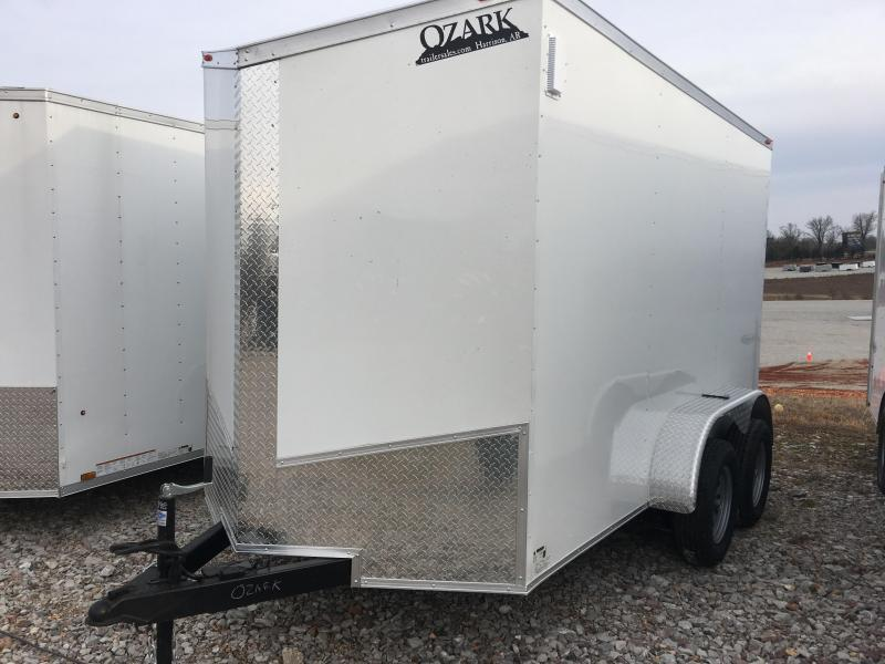 Ozark 6 X 14 Tandem Axle Enclosed Cargo Trailer 7K