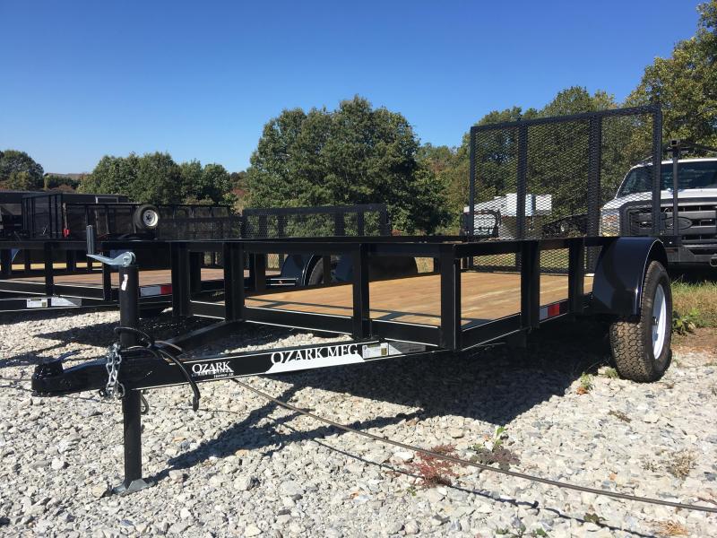 2020 Ozark 5x10 Eco 4ft Gate Utility Trailer