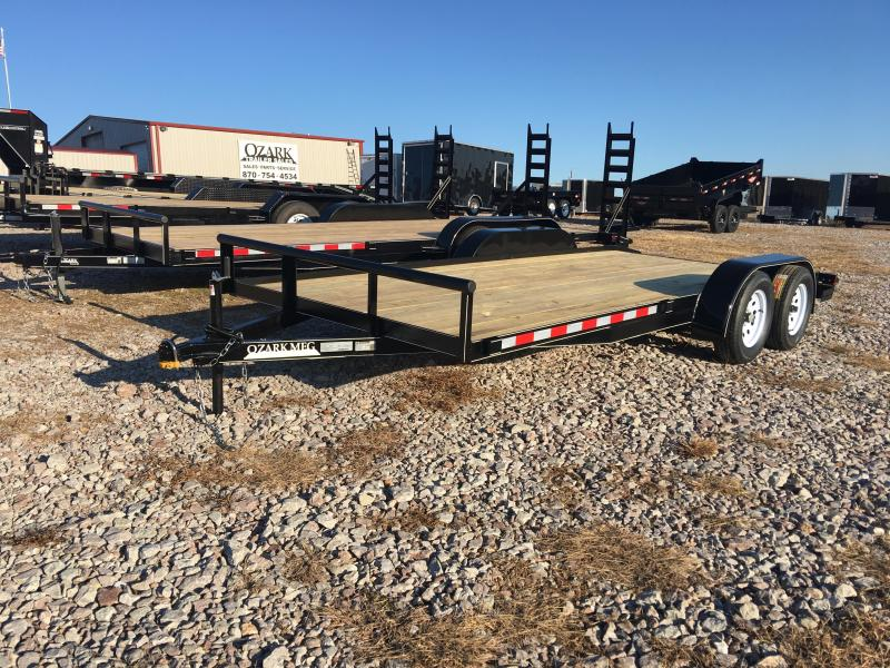 2020 Ozark 82x18 Low Profile Car Hauler