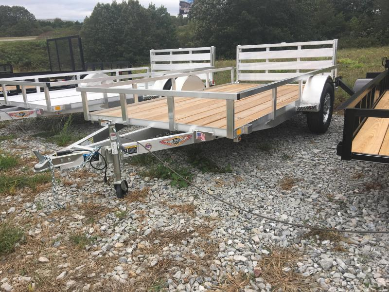 2020 H and H Trailer 76x12 Bi-Fold Gate