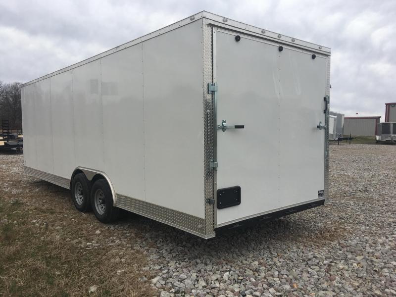 2020 Eagle Cargo 8.5x24 10K Enclosed Car Hauler Enclosed Cargo Trailer