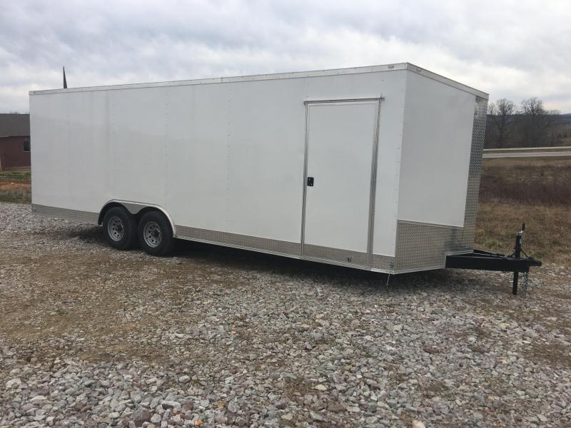 2020 Eagle Cargo 8.5x24 10K Enclosed Car Hauler Enclosed Cargo Trailer