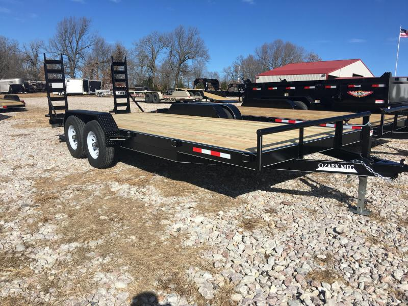 2020 Ozark 82x20 14K Equipment Trailer Equipment Trailer