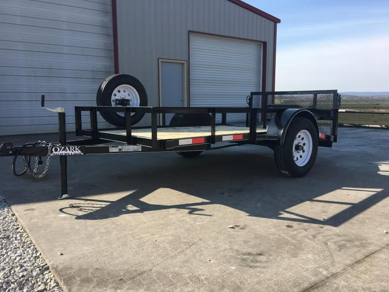 Ozark 5 x 10 Preferred Package Utility Trailer