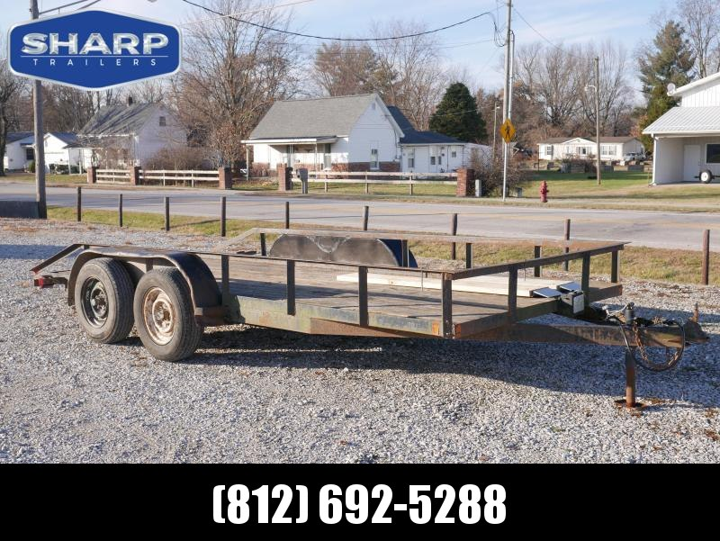 2002 Other Jerry James 16' Utility Utility Trailer
