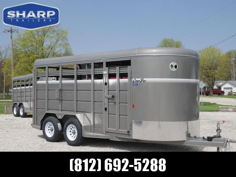 2019 CornPro Trailers SB 16 6S Livestock Trailer