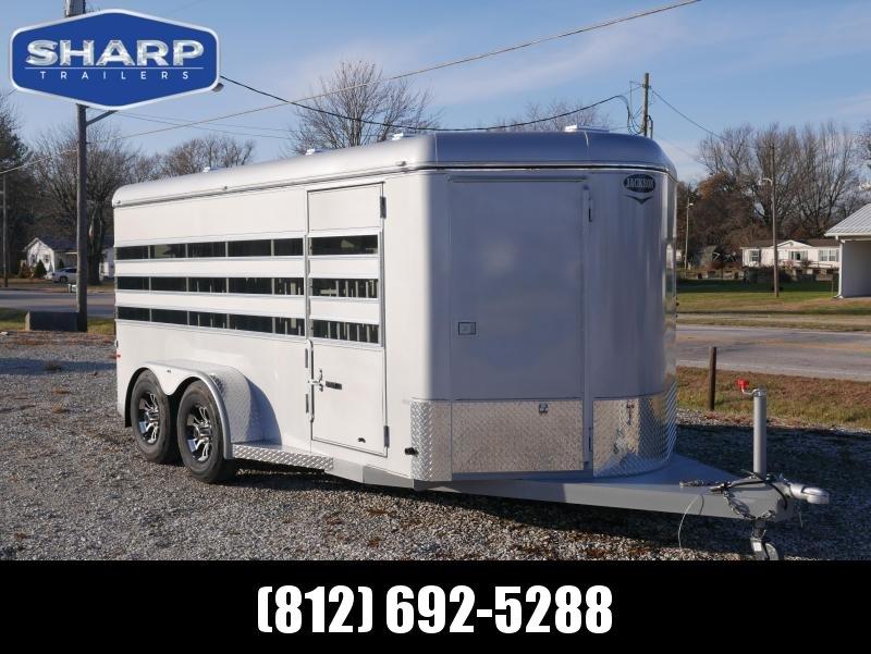 2020 Jackson Manufacturing Inc. 16 6 Pen Livestock Trailer