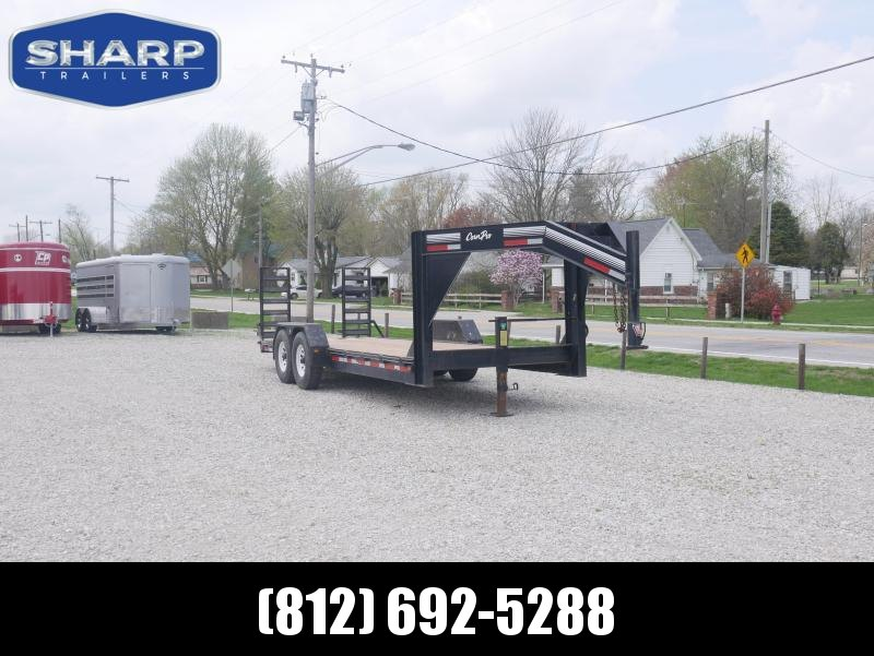 2003 CornPro Trailers UT-20H Gooseneck Equipment Trailer