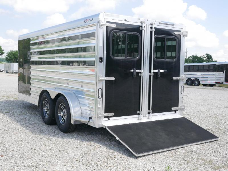2019 Exiss Trailers Exiss Exhibitor 716A BP Livestock Trailer