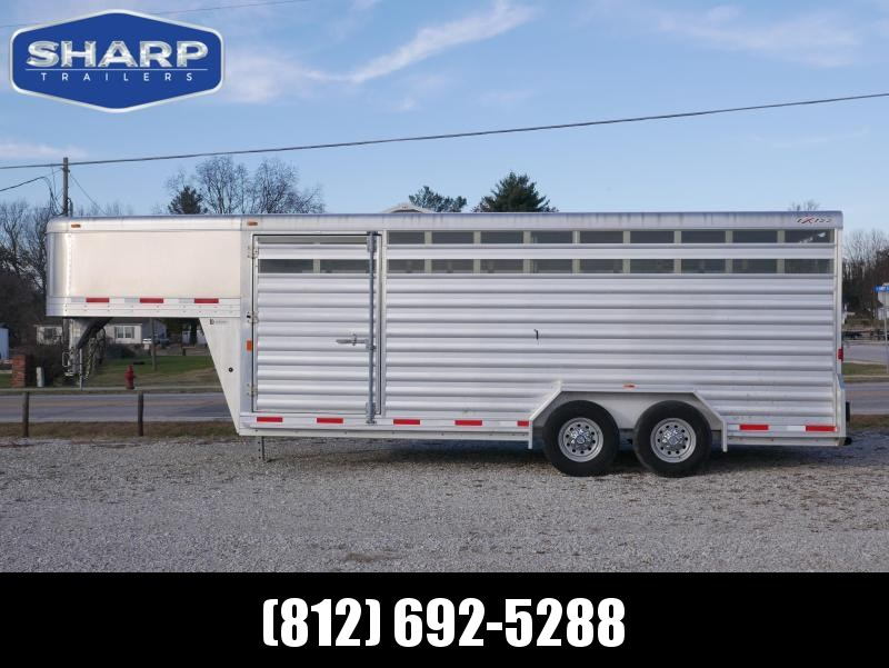 2016 Exiss Trailers STK7020 Livestock Trailer