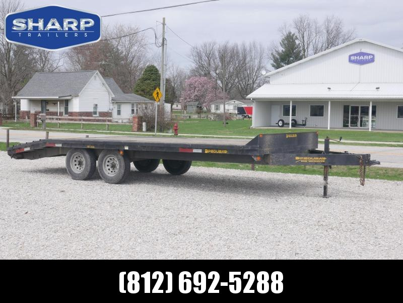 2006 Pequea 16+4 Equipment Trailer