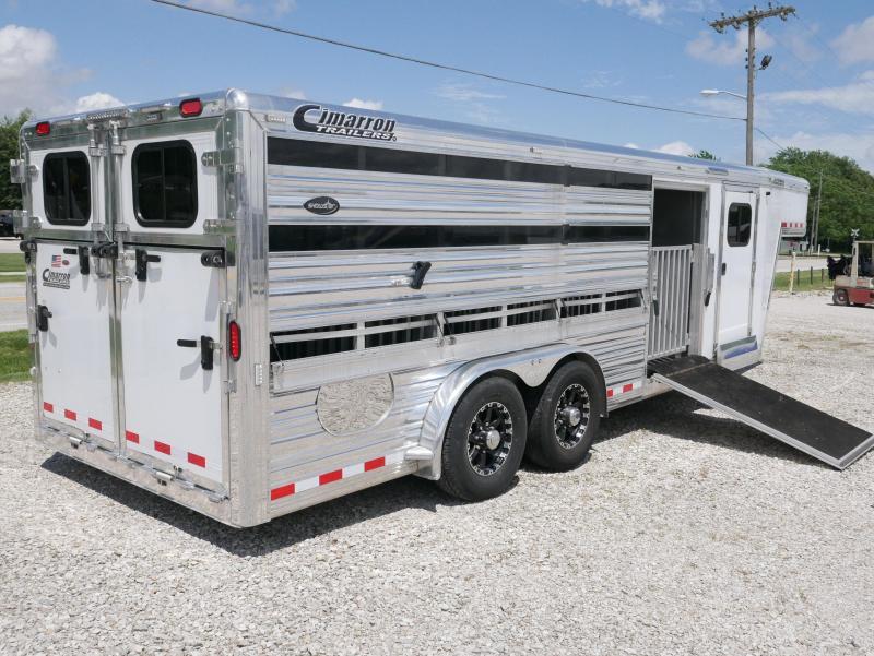 2014 Cimarron Trailers SS2SG211706260E Livestock Trailer