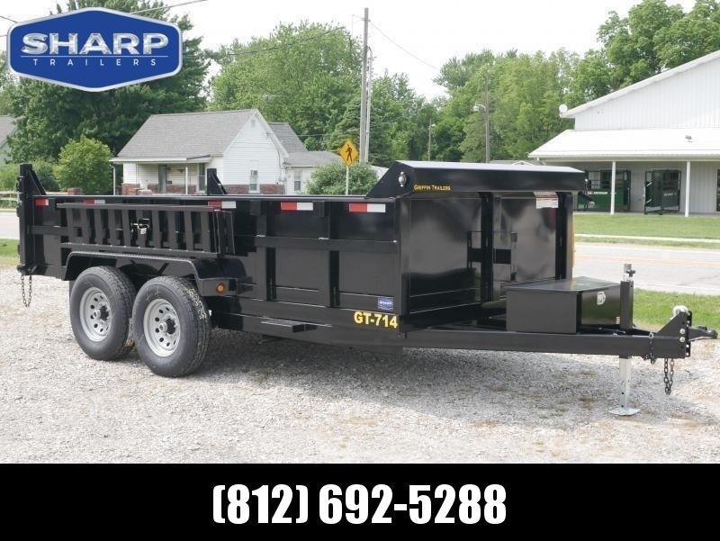 2020 Griffin LMD8314TA70 Dump Trailer